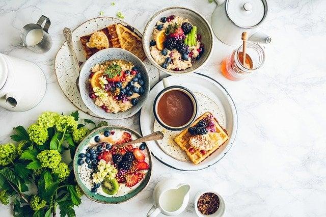 Millainen on hyvä aamupala?