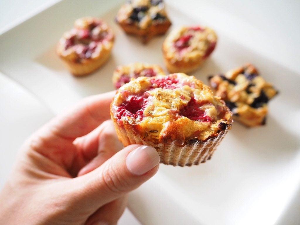Terveelliset ja herkulliset aamupalamuffinit